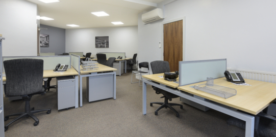 12 Workstation Office Available Immediately