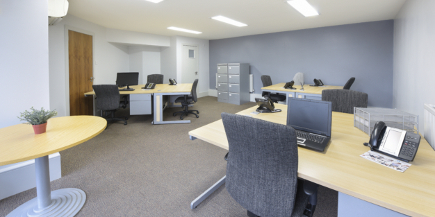 10 Workstation Office Available Immediately