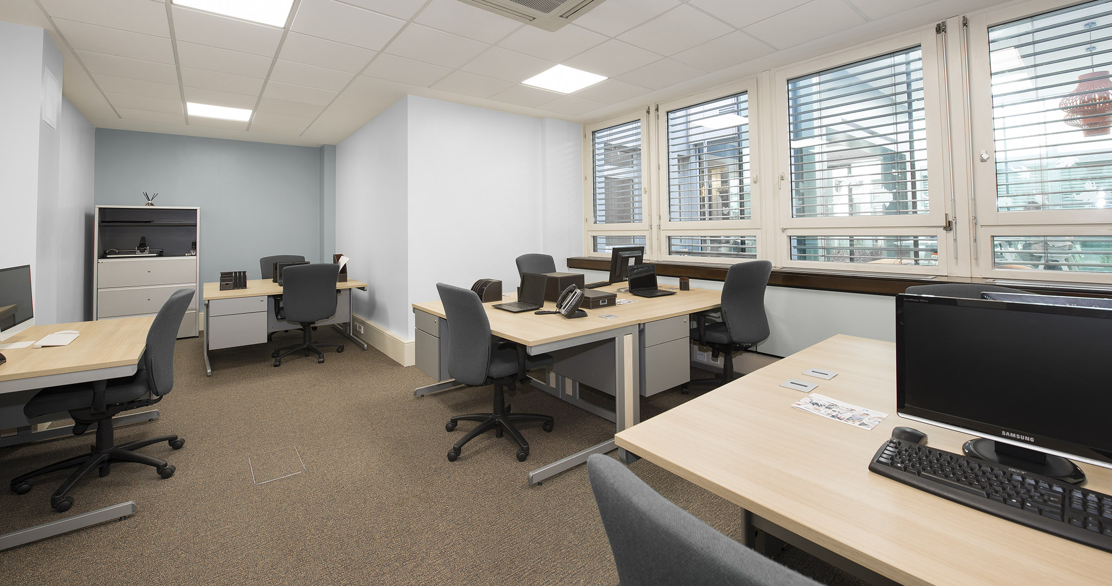 7 Workstation Office Available February 2019